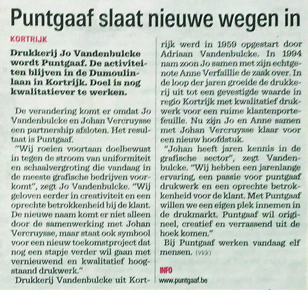 Nieuwsblad 13-11-2018